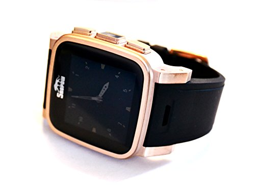 SNOPOW W1 Waterproof GSM Smartwatch for Android Gold by EXETECH
