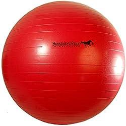 Horsemen's Pride 25-Inch Mega Ball for Horses, Red