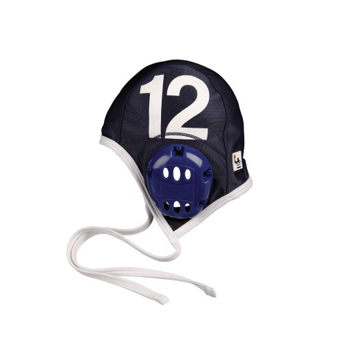 FINIS Adult Water Polo Plastic Caps Team Set, Navy (Team Caps Polo Set)