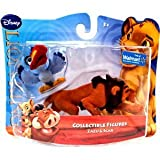 Disney Lion King Exclusive Flocked Mini Figure 2Pack Zazu Scar