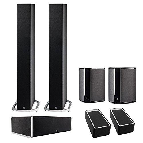 Definitive Technology BP9060 5.0 Tower Speaker Bundle w/ Int