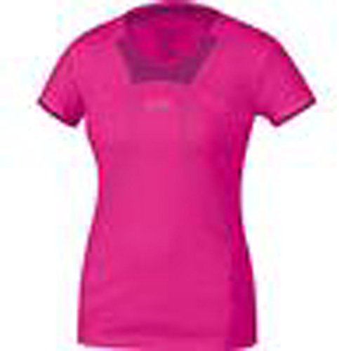 Gore Running Wear Short Sleeve AIR 2.0 Lady Shirt, Fuchsia/hot Pink, Size -