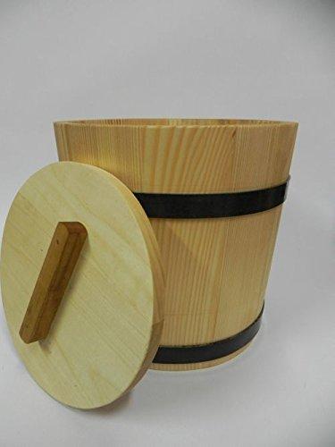 Main Pot de marmite avec couvercle 5/l Pot /à fermentation choucroute concombre Seau en bois Bois