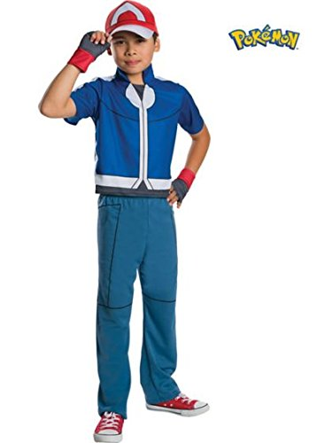 Pokemon Ash Deluxe Child Costume from Rubie's Costume