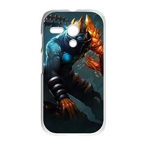 League Of Legends Motorola G Cell Phone Case White J9890035