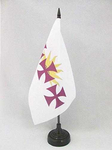 AZ FLAG Bandera de Mesa de la HISPANIDAD 21x14cm - BANDERINA de ...