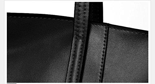 Main Paquet Bandoulière Simple Cuir Dames De Occasionnel Black Amérique En Nouveau Sacs Mode à Main Sacs En à Grands Capacité à Europe Sac De Paquet De Sacs Et Grande En Sacs qWddvCT