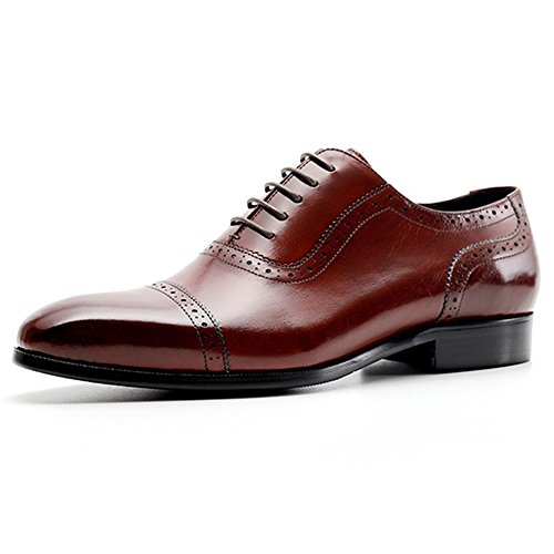 Scarpe Uomo Oxford Cocktail Reception Business Da Casual Red Uomo Estive Per Scarpe Party Brogue Classic Uomo q8FwSaB