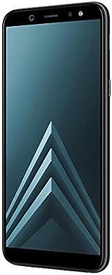 Samsung Galaxy A6 - Smartphone libre Android 8,0 (5,6 HD+), Dual SIM, Cámara Trasera 16MP + Flash y Frontal 16MP + Flash, Negro, 32 GB 5.6