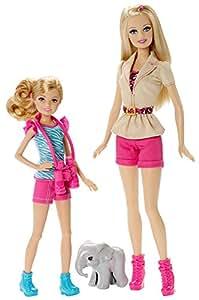 Mattel - Barbie hermanas vamos de safari