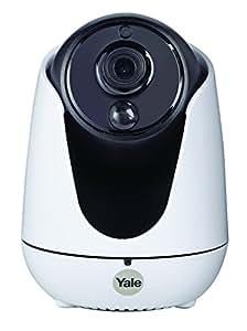 Yale WIPC-303W Smart Living Kaydırma, Eğme ve Yakınlaştırma Özellikli View IP Kamera,Beyaz
