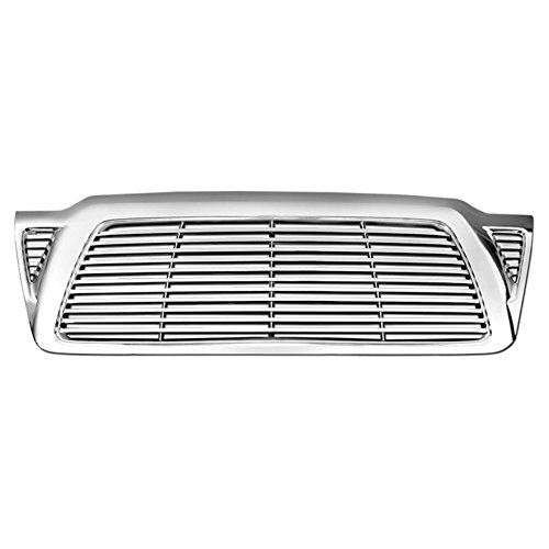 (Premium FX Chrome ABS Billet Replacement Grille for 2005-2011 Toyota Tacoma )