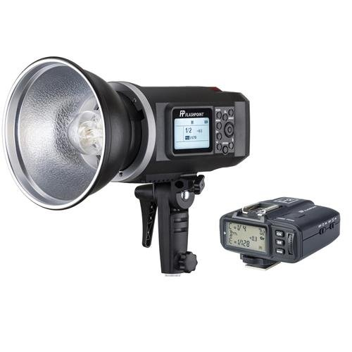 Flashpoint XPLOR 600 HSS Battery-Powered Monolight with Built-in R2 2.4GHz Radio Remote System and R2 Transmitter For Canon (Bowens Mount)(AD600) by Flashpoint