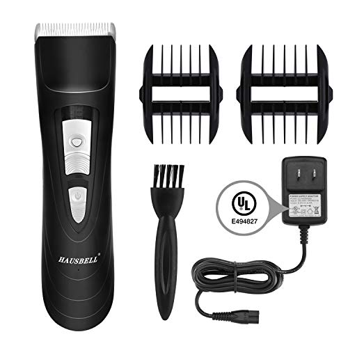 HAUSBELL Hair Clippers for man Quiet Cordless Rechargeable: Electric Hair Trimmer Kit Razor Waterproof Battery&charger…