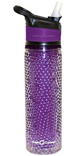 Tritan Wall (Green Canteen DWPTBBG-600-PUR Double Wall Plastic Tritan Bottle, 19-Ounce, Purple)