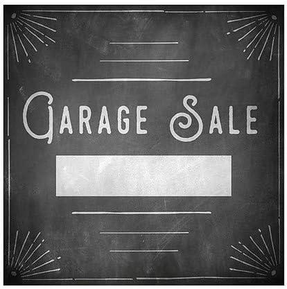 Chalk Corner Window Cling CGSignLab Garage Sale 5-Pack 24x24