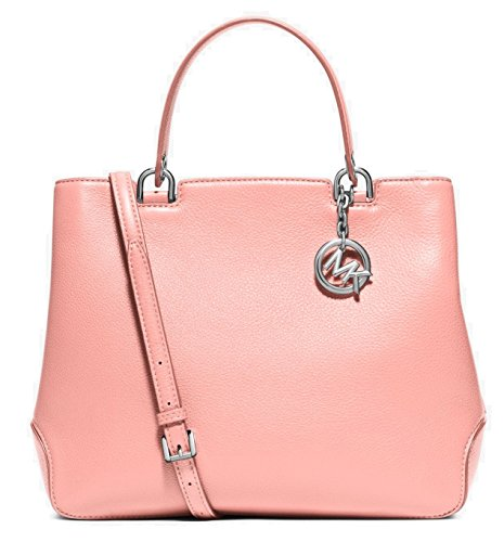 Michael Kors Anabelle Large Leather Tote in Pale Pink