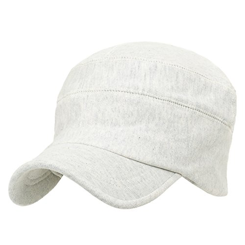 Cotton Soft Flex Work Cap Color Slouchy Ivory ililily Solid Casual Fit Hat qxwRHpEpf