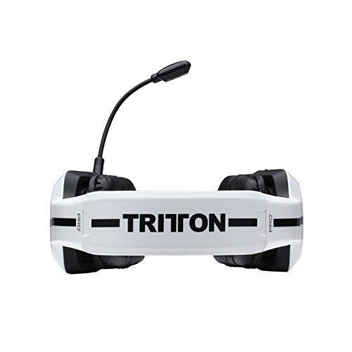 Tritton Pro+ True 5.1 Surround Binaural Diadema Blanco auricular con micrófono - Auriculares con micrófono (PC/Juegos, Binaural, Diadema, Blanco, PC, Mac, ...
