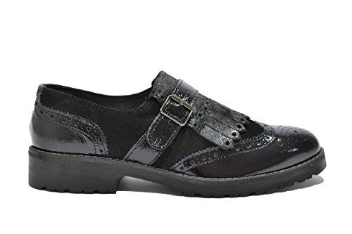 Negro Zapatos Cordones Mujer Para Igi amp;co De qC7fY