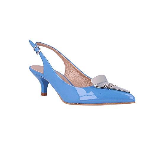 Roberto Couleur chaussure 35 Bleu Botella p Moyen Talon Taille p qqPwOf