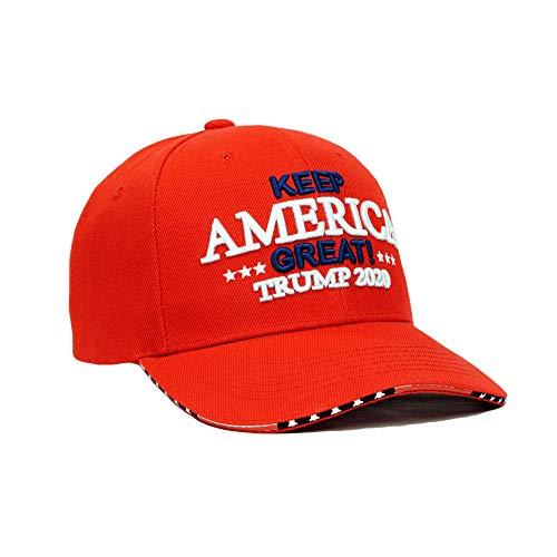 ceaffef7e Bingoo Trump 2020 Keep America Great Embroidery Campaign Hat USA Baseball  Cap (Style No.
