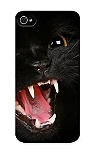 Fireingrass Anti-scratch And Shatterproof Animal Cat Phone Case For Iphone 5/5s/ High Quality Tpu Case