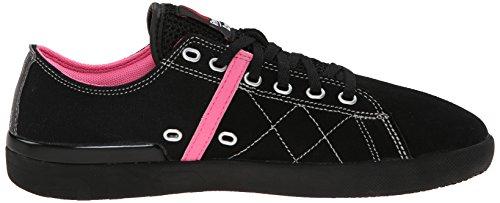Reebok RCF Lite Lo TR Cnvs Lona Zapatos Deportivos Black/Electro Pink/Steel