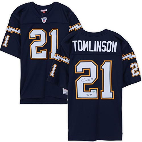 LaDainian Tomlinson San Diego Chargers Autographed Navy Mitchell & Ness Replica Jersey with