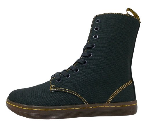 Dr. Martens Womens Stratford 9 Eye Fold Down Boot Navy 4JXy52
