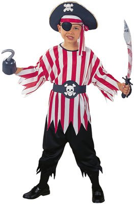 RG Costumes Pirate Boy Costume, Child Medium/Size 8-10