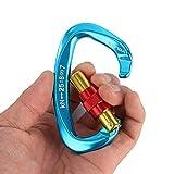 XINDA Screwgate Locking Carabiner Clip