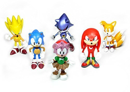 idesire-sonic-the-hedgehog-action-figure-multi-pack-2-6pcs-set-by-idesire