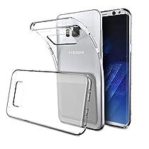 Elekin Samsung Galaxy S8 Plus Hülle Case, Transparent TPU Case Crystal Clear Handyhülle Schutzhülle für Samsung Galaxy S8 Plus