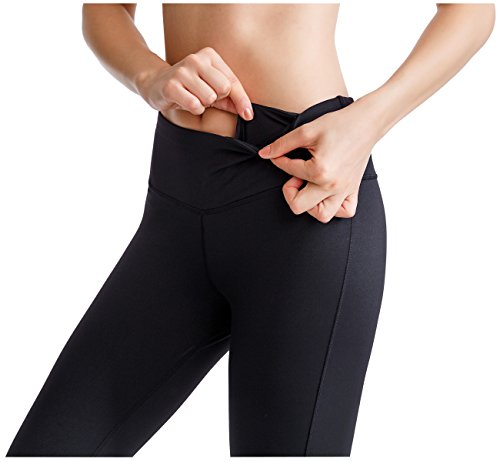 Oalka-Womens-Yoga-Capris-Power-Flex-Running-Pants-Workout-Leggings