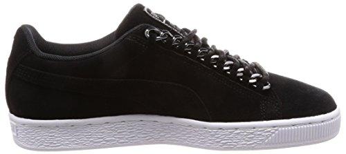 Puma X Suede Classic W Chain Chaussures Noir a6fPaxnrA