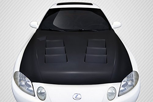 Carbon Creations Replacement for 1992-2000 Lexus SC Series SC300 SC400 TS-1 Hood - 1 Piece