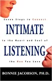 Intimate Listening, Bonnie Jacobson, 1440110069