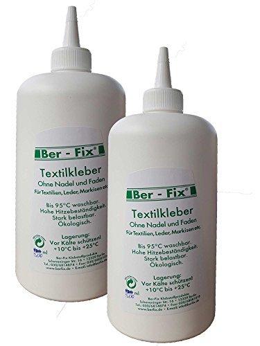 Ber Fix Textile Adhesive 1litre Boilable 95 Bügelfest 180