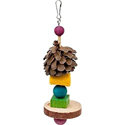 "Ware Carnival Crops Chew Ka-bob for Small Animals, 2.25"" W X 6.5"" H, Multi-Color"