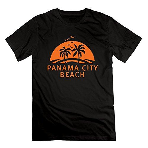Panama City Beach Store569 Male Round-Neck Brand New PANAMA CITY BEACH T-shirt -