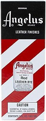 Amazon.com: Angelus Leather Dye (Red),3