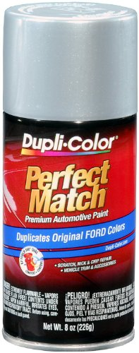 Silver Aerosol - Dupli-Color BFM0383 Silver Metallic Ford Exact-Match Automotive Paint - 8 oz. Aerosol