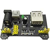 mi ji Clasificación MB102 Breadboard 3.3V / 5V Módulo de Fuente de alimentación 3.3V / 5V para Arduino BoardAccesorios de móviles y telefonía