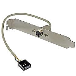 Startech.com 6-pin Minidin Ps2 Mouse Slot Plate Bracket (Plate6f)