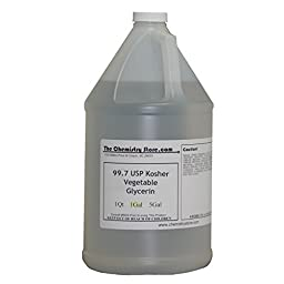 Kosher USP Food Grade 1 Gallon Vegetable Glycerin (99.7% USP)