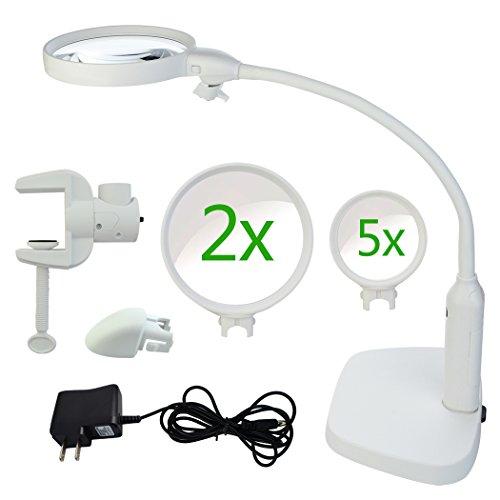 Desktop Led Lighted Magnifier - 7