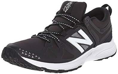 New Balance Women's Vazee Agility Training Shoe, Black/White, 7 B US