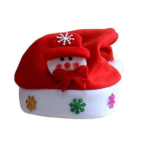 [Fedi Apparel 2016 Christmas Party Decor Santa Claus Children's Christmas Hats Caps Xmas Party Decor Ornaments Xmas Gift Santa Hats] (Homemade Reindeer Costumes For Kids)