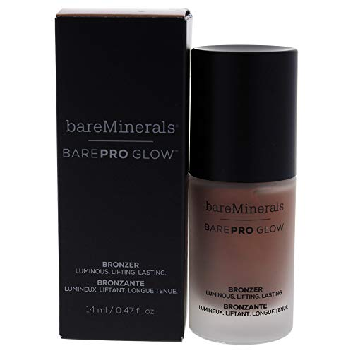 Bare Escentuals Barepro Glow Bronzer Liquid Face Bronzer Makeup - Warmth, 0.47 Oz
